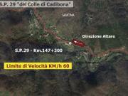 SP 29 - Comune di SAVONA - Km. 147+300