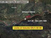 SP 29 - Comune di SAVONA - Km. 149+500