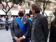 """Inaugurazione del Monumento """"Alla Libertà"""" dedicato a Sandro Pertini"""