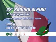 22° Raduno Alpino a Savona, dal 4 al 6 ottobre 2019
