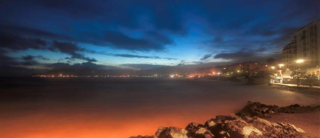 Savona by nigth (Ph: Franco Galatolo)