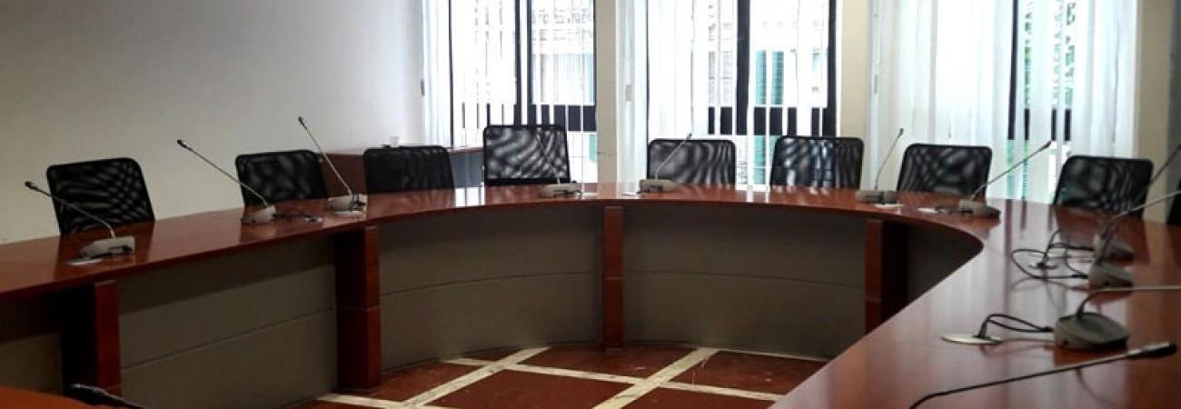 Ridotto della sala del Consiglio provinciale