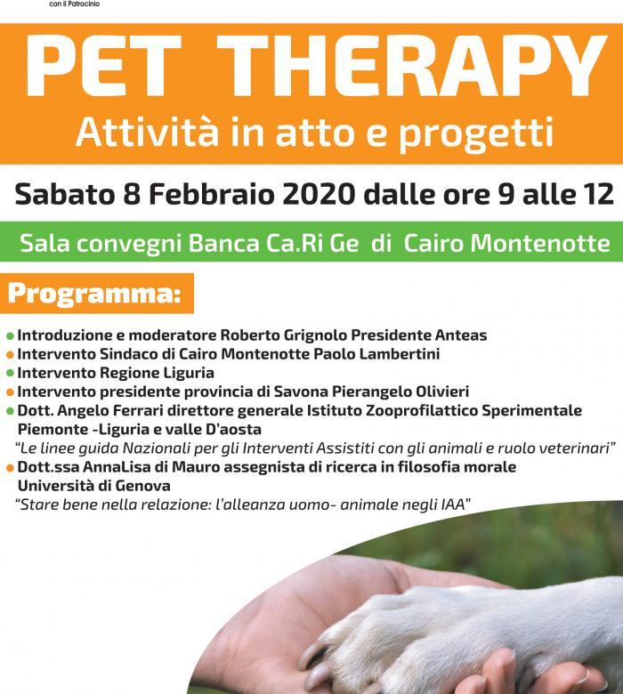 Pet Therapy - Attività in atto e progetti