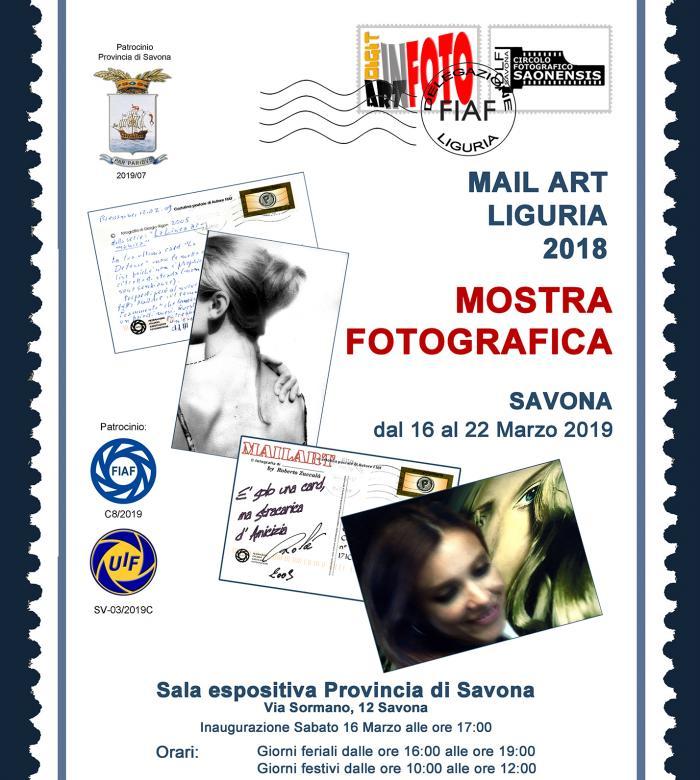 Mostra fotografica Mail Art Liguria