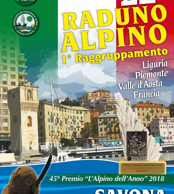 A Savona il 22° Raduno Alpino 1° Raggruppamento dal 4 al 6 ottobre 2019