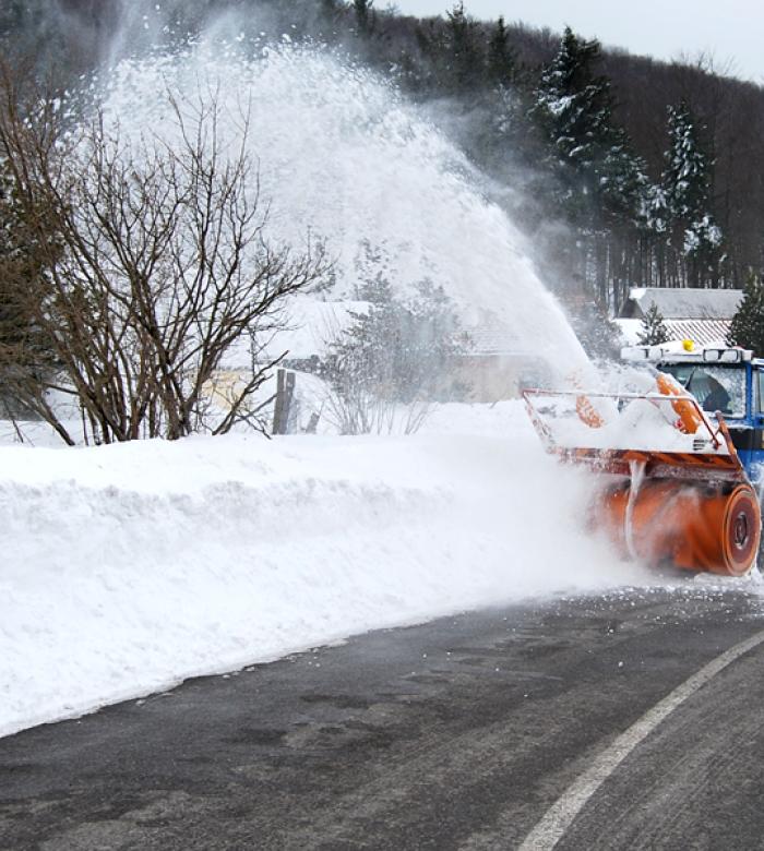 Catene neve (Ph: Provincia di Savona)