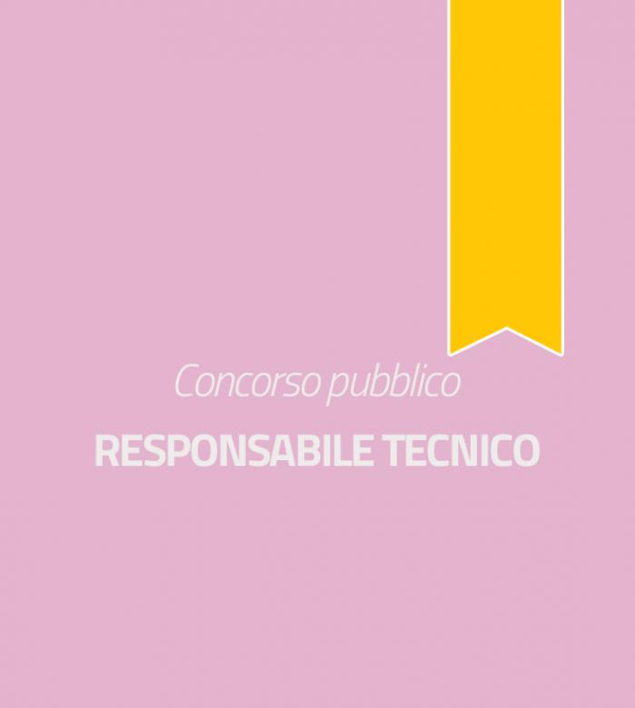 Responsabile Tecnico