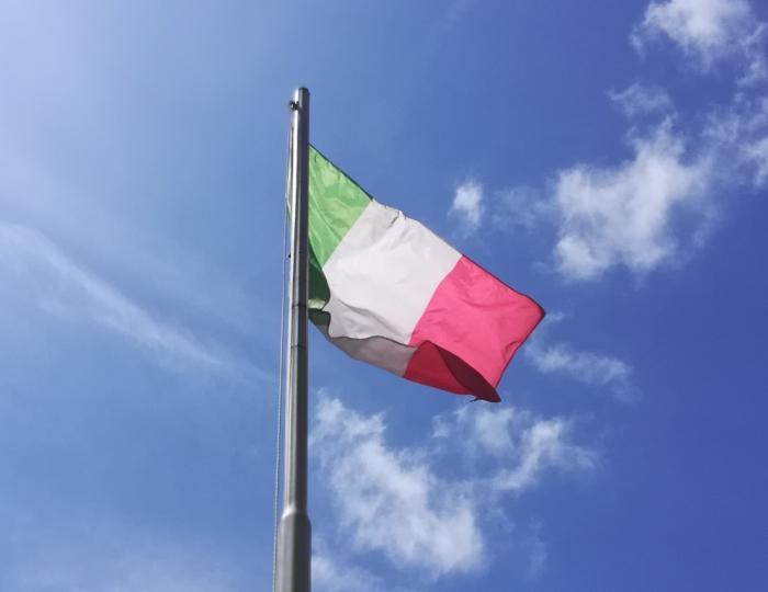 Bandiera Italiana - Ph: Provincia di Savona