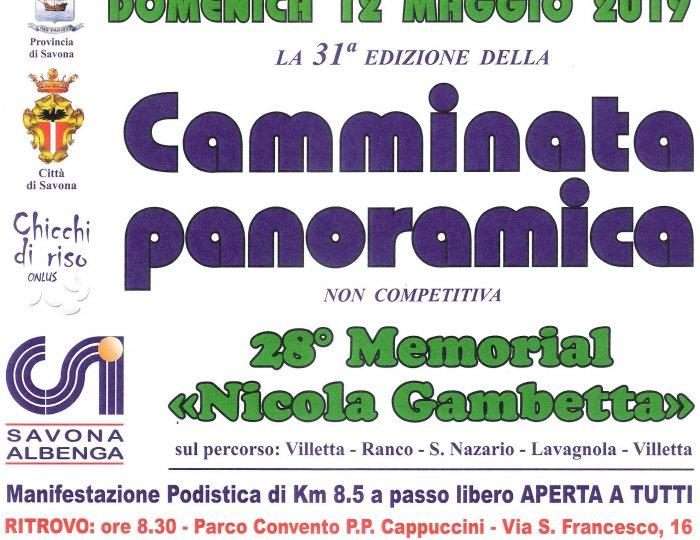 "28° Memorial ""Nicola Gambetta"""