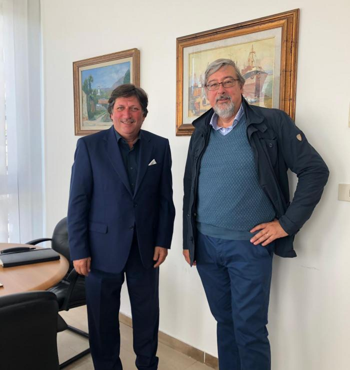 Provincia di Savona, vicepresidente Francesco Bonasera e assessore comunale Roberto Levrero