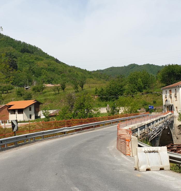 SP 51 Bormida di Millesimo, ponte di Acquafredda