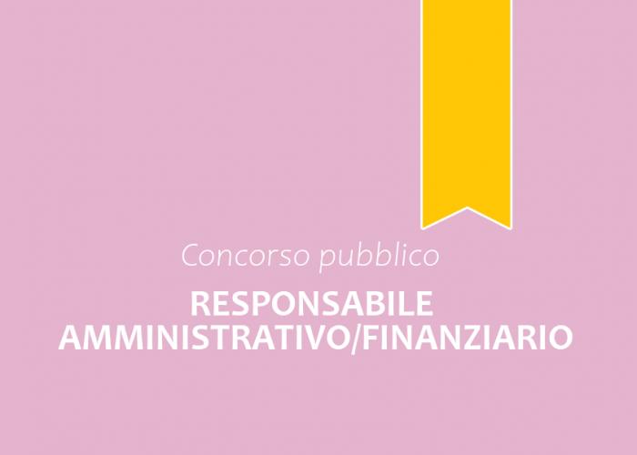Responsabile Amministrativo/Finanziario