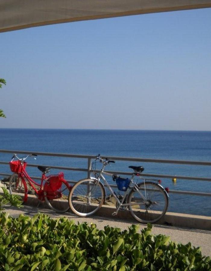 Gita in bicicletta sulla passeggiata Europa (Ph: Ornella Carrubba)