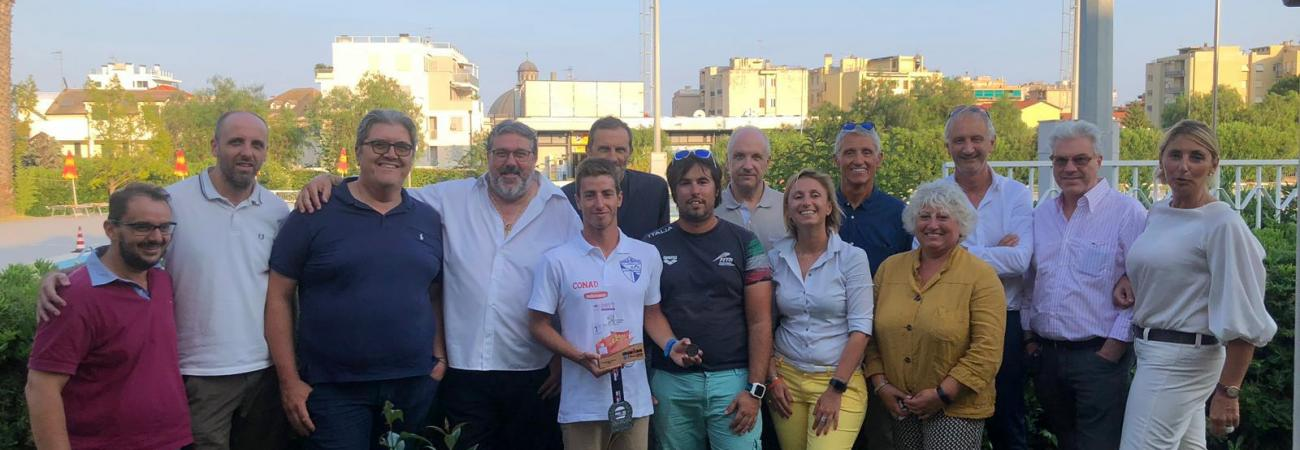 Loano, la Provincia di Savona partecipa all'incontro con l'atleta loanese Ivan Capelli