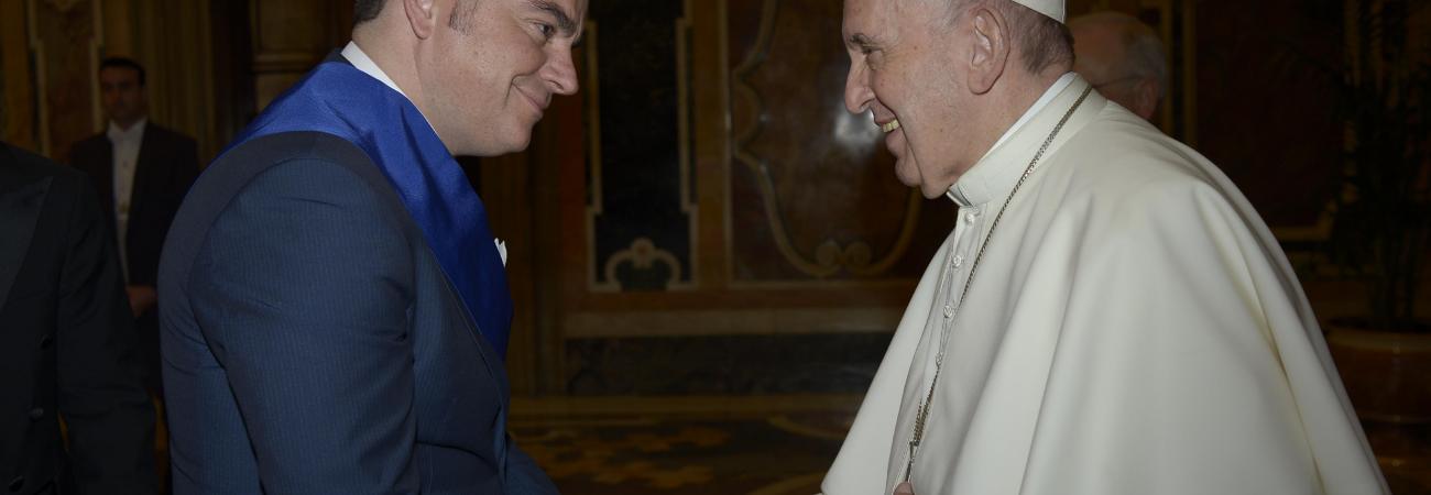 Città del Vaticano, Papa Francesco accoglie i Presidenti di Provincia