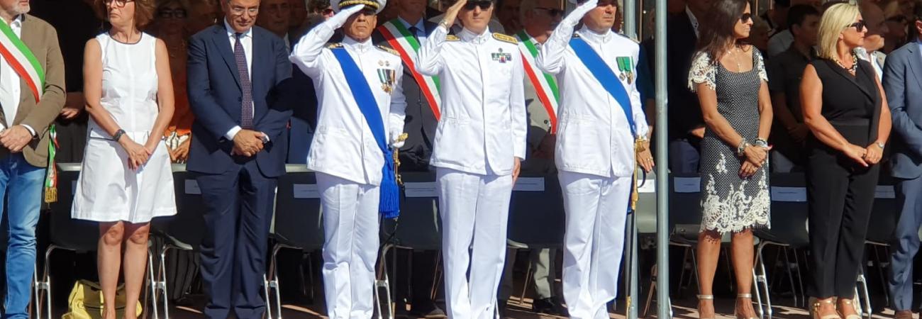 Capitaneria di Porto di Savona, cerimonia ufficiale del passaggio di consegne