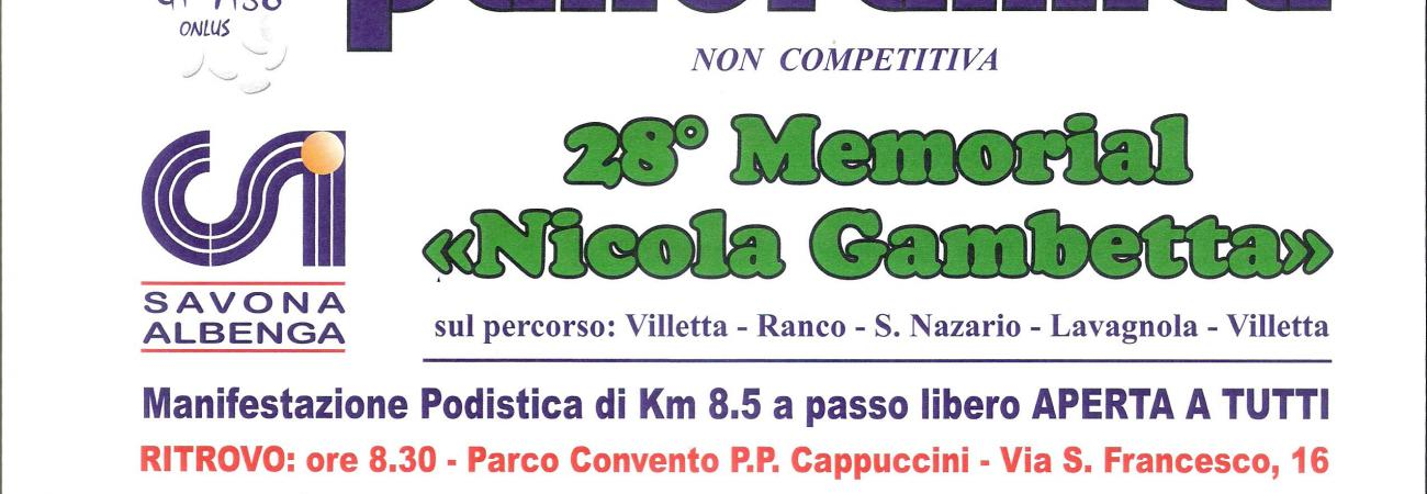 Memorial Nicola Gambetta