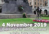 4 Novembre 2019 - Giornata dell'Unità Nazionale e delle Forze Armate