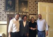 Alassio, Vicesindaco Angelo Galtieri, Vicepresidente Francesco Bonasera, Sssessori Franca Gianotta e Fabio Macheda
