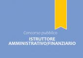 Concorso pubblico, per esami, per l'assunzione a tempo pieno ed indeterminato di n. 3 Istruttori Amministrativi/Finanziari - Categoria C