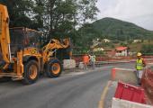 Sp 51, riaperto a senso unico alternato il ponte in località Acquafredda