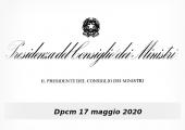 Dpcm 17 maggio 2020