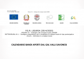 GAL Valli Savonesi - Informativa Bandi