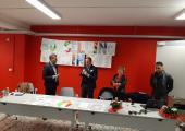 Cerimonia di intitolazione Aula Magna Istituto Ferraris Pancaldo di Savona a Paolo Borsellino